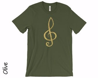 Music Notes T-shirts Treble Clef Tshirt Womens Music Tshirts Music Tshirt Treble Clef T-shirt Musician T-shirt Musician Gift Music Shirt