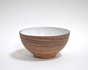 Handmade Pottery Bowl - Ceramic Bowl - Stoneware Bowl - Marbled Clay Bowl - Agateware - Swirlware - Handmade Ceramic Bowl