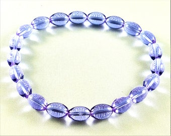 Color-changing Glass Beaded Bracelet