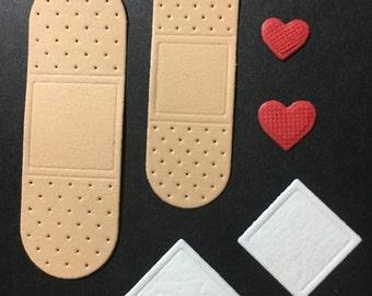 Band-Aids Diecuts -- 6 piece set