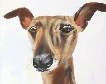 Commission a Dog Portrait Painting