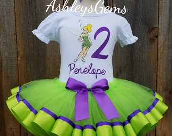 Tinkerbell Birthday Outfit, Tinkerbell Costume, Tinkerbell Tutu, Tinkerbell Dress,Tinkerbell Shirt, Tinkerbell Onesie, Tinkerbell Outfit
