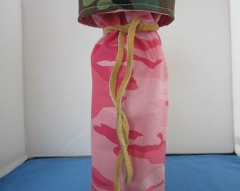 Wine Bag  Pink camofllauge