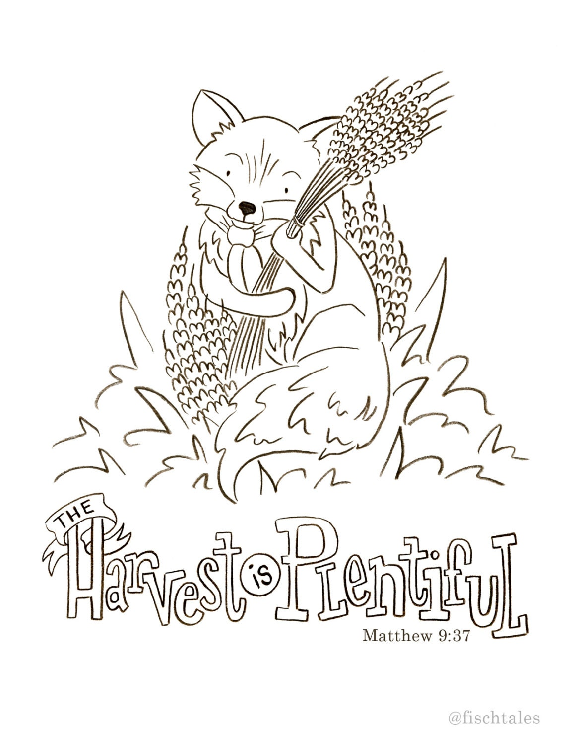 harvest coloring pages printables from ruthonesixteen on etsy studio