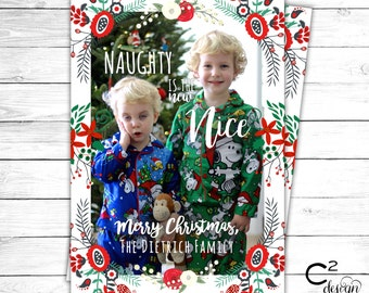 Naughty is the New Nice Holiday Card
