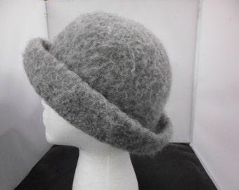 Light Grey Felt Hat
