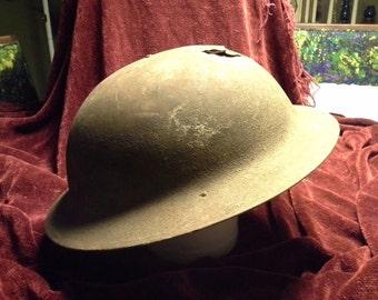 """1917 World War 1 """"Brodie"""" United States M1917 Helmet - YJ161"""
