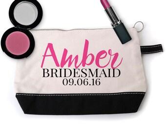 Bridesmaid Cosmetic Bag - Bridesmaid Gift