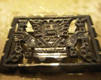 Peruvian Silver Pin