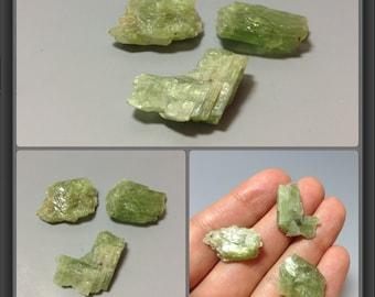 Green Kyanite 3 stones