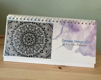 Zentangle - 2017 Desk Calendar