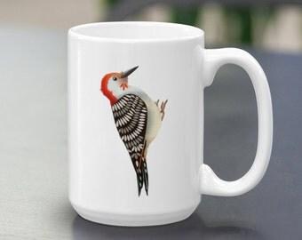 Red-bellied Woodpecker Mug 15oz. MTO