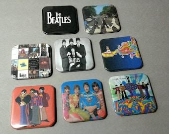 The Beatles, Pin Backs, Beatles Art, Badge Pins, Gift For Mom, The Beatles Pin, Beatles Pin, Paul MacCartney, Abbey Road, John Lennon, Badge