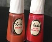 Vintage Revlon Nail Polish Bottles Collectible Prop