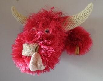 Amigurumi Highland Cow : Faux cow head Etsy