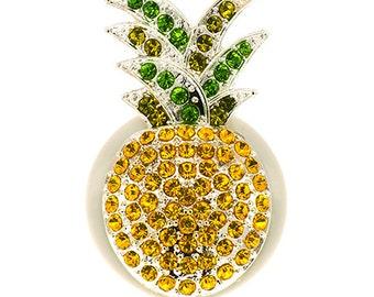 Pineapple ID Badge Reel - SassyBadge - Tropical Badge - Retractable ID Badge  Clip - Nurse Gift