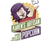 2 Large Popcorn Bag SALE! - DISCOUNT - Gourmet Popcorn - Made in Vermont - Buttery, Crunchy and SO Delicious!