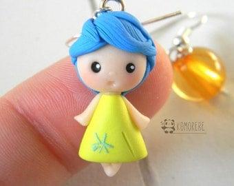 Joy, joy, inside Out, earrings