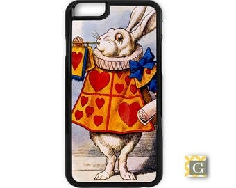 Galaxy S8 Case, S8 Plus Case, Galaxy S7 Case, Galaxy S7 Edge Case, Galaxy Note 5 Case, Galaxy S6 Case - White Rabbit