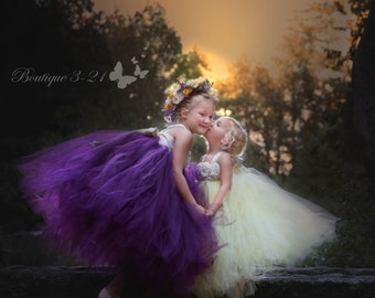 Plum Flower Girl Dress, Plum Tutu Dress, Plum Tulle Dress, Plum Dress, Eggplant Flower Girl Dress, Eggplant Tutu Dress, Eggplant Tulle Dress