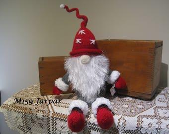 Hand Knitted Scandinavian Gnome