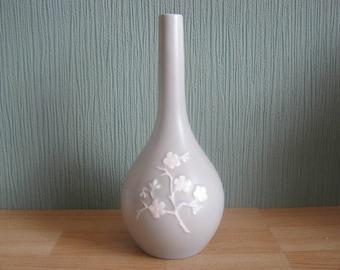 Vintage Green Copeland Spode Vase