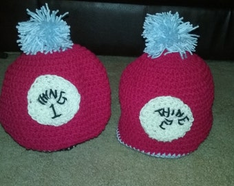 Thing 1 & 2 Hats