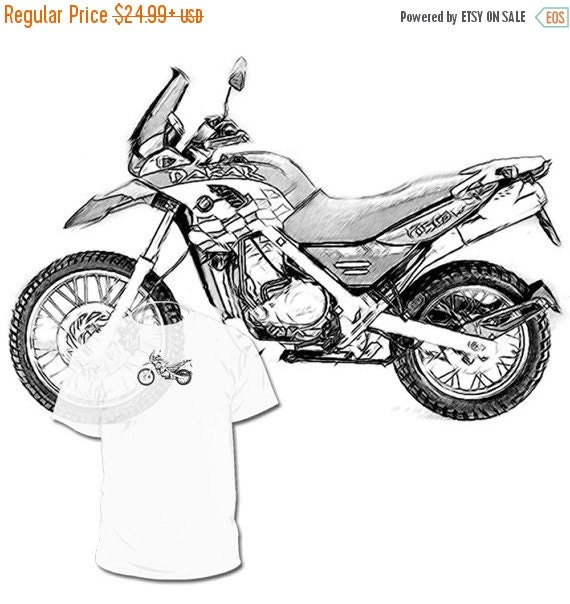 40 Off Sale Bmw 650 Gs Dakar Drawing T Shirt Your By