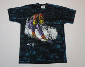 Park City Utah T-Shirt Vintage 1990s L Ski