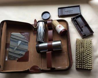 Gentlemans vintage grooming kit