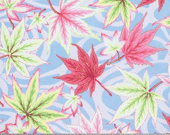 1/2 Yard Maple Stream in Ice Philip Jacobs  fabric  PJ080