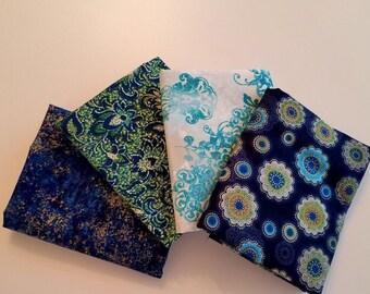 1/2 yard Fabric bundle of Fortissimo by Robert Kaufman.  4 different fabrics