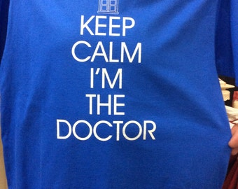 doctor who keep calm shirt
