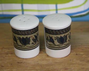 "Mikasa Intaglia  ""Arabella""  Salt and Pepper Shakers"