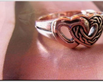 Solid Copper Band Ring CTR1253 - Available in sizes 4 to 10 - 3/8 of an inch wide