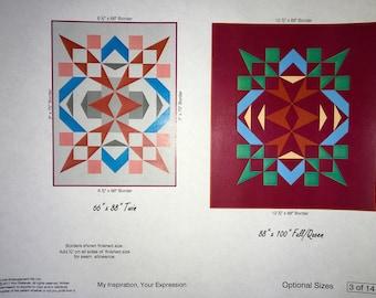 pdf quilt pattern Gift Wrap