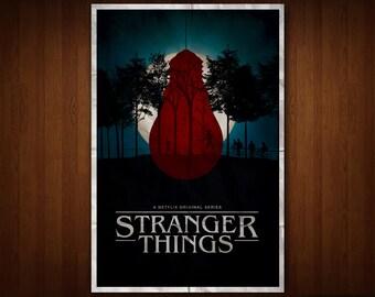 Stranger Things Poster (Multiple Sizes)