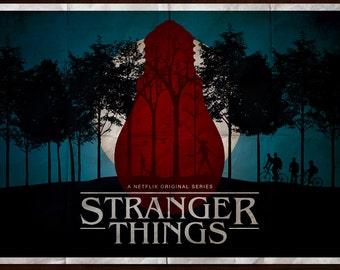 Stranger Things Poster - Landscape (Multiple Sizes)