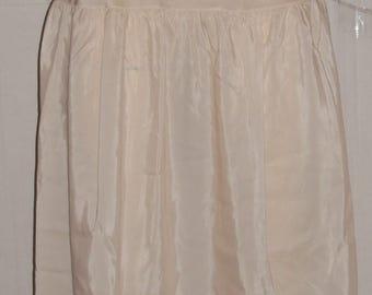 Vintage Pale Pink Half Slip Satin Petticoat Barbizon Crepe Remarque Made in USA Lace Trim S