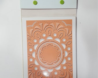 Cuttlebug Embossing Plus A2: Deco Burst