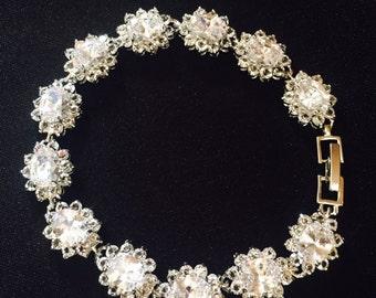 bride zirconia bracelet zirconia jewellery wedding jewelry wedding bracelet bridal bracelet bridal jewelry crystal bracelet zirconia cuff