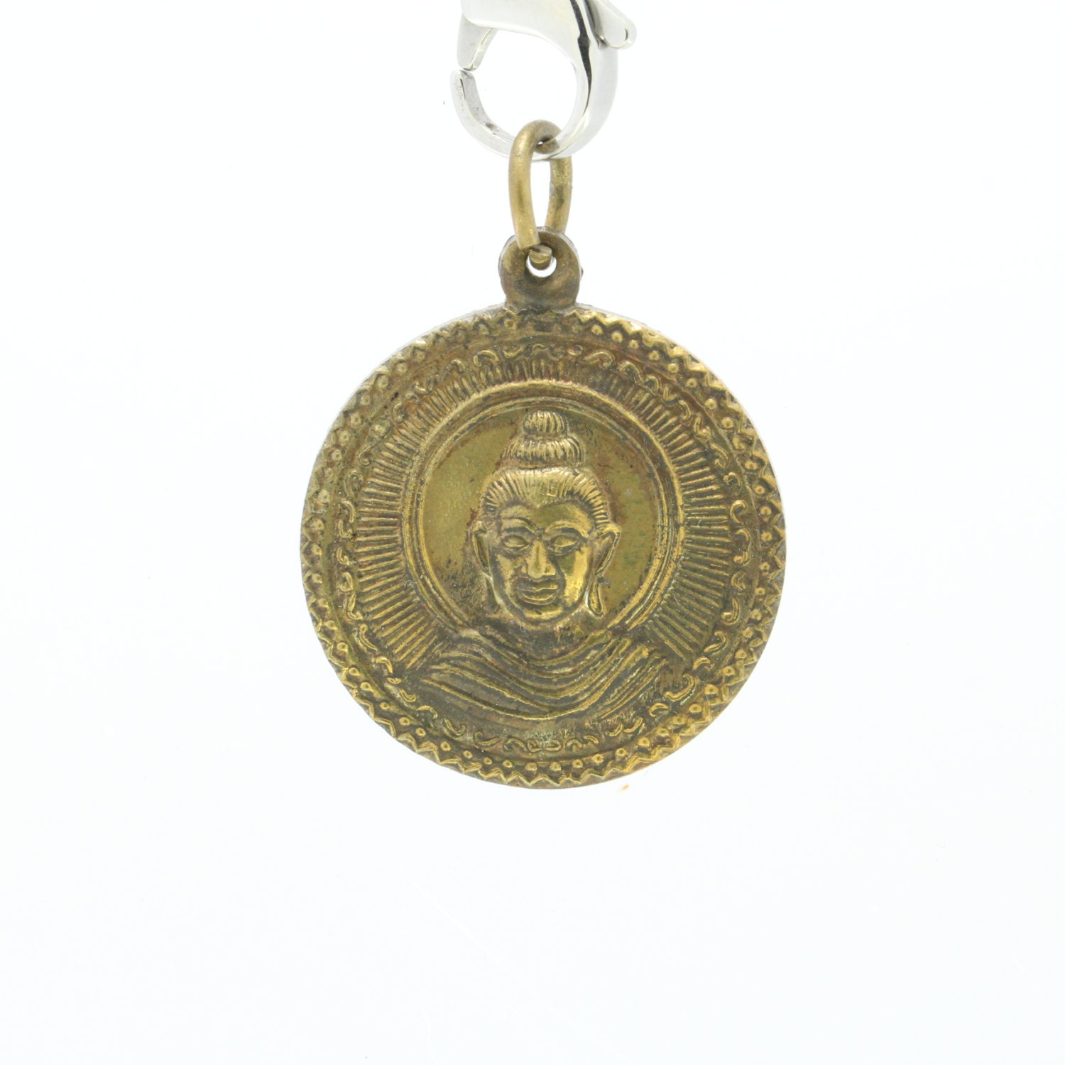 Lord buddha amulet pendant good luck pendant for Does buddha bring good luck