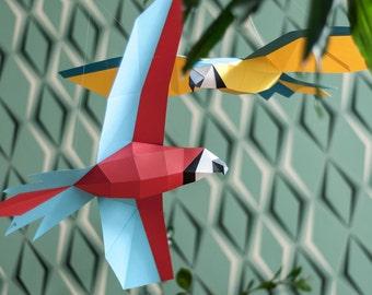 Parrot - DIY Papercraft Kit