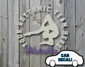 Car Decal Rhythmic Floor