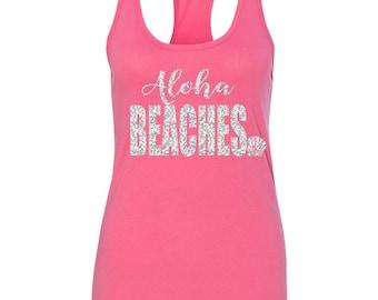 Aloha Beaches Bachelorette Tank