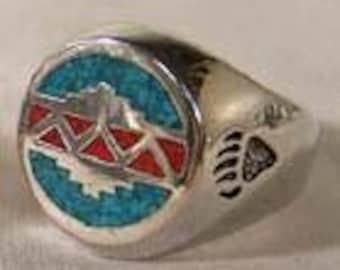 Mesa Design Ring