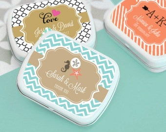 Personalized Theme Mint Tins, (Set of 24)