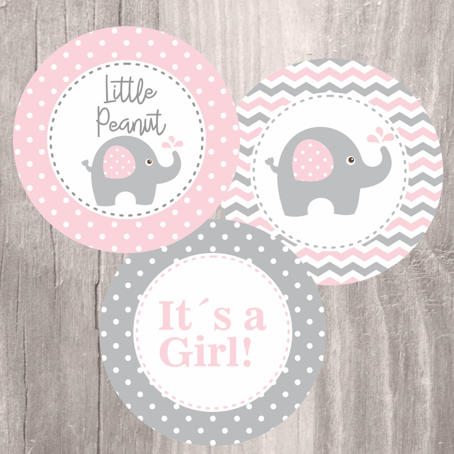 It is a photo of Amazing Free Printable Elephant Baby Shower