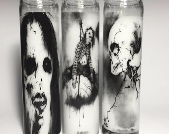 Scary Stories to tell in the Dark Prayer Candle set of 3
