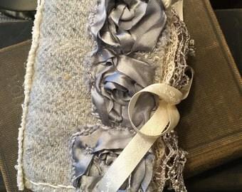 Beautiful Handmade Shabby Needle Case Needle Book